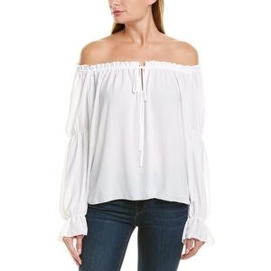 NWT Bailey 44 Off the Shoulder Peasant Blouse
